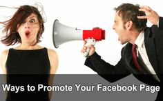 Ways to promote your facebook page