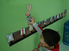 Mathazone- Toto Rabbit Number Line Games BÇÜ