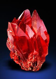 Minerals, Crystals & Fossils — Rhodochrosite - N'Chwaning II Mine, Kuruman,...