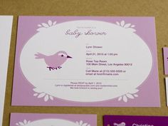 8. Purple with baby bird