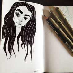 Inktober day one! Lol I'm so late but I've been busy so yeah. Eh.