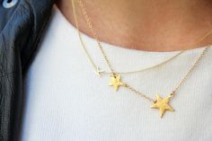 simple gold necklaces