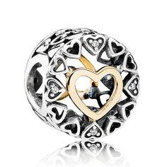 45af49f96 PANDORA Loving Circle Clear CZ Charm Pandora Wedding Charms, Pandora  Christmas Charms, Pandora Charms