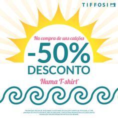 ::: Just 4 the Girls ::: #tiffosikids #tiffosidenim #campanha #ss14   Na compra de uns calções, -50%* de desconto numa t-shirt Compra online em: www.tiffosi.com  *Promoção válida de 30 de Abril a 18 de Maio de 2014, em t-shirts de PVP igual a 7,99€. Limitado ao stock existente.  Não acumulável com outras promoções e/ou descontos. Promoção válida apenas em artigos de menina.