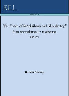 The portrayals of Ni personify the climax of the repentance and the salvation sought after in the ancient Egyptian faith. Ni, in a solitary envision of his divine twins, has been in such wonderful experience of numinous consciousness.       Ni-Ankhkhnum-Khnumhotep Life belongs to Ni' Soul - Ni' Soul is Satisfied  (Free Download) https://independent.academia.edu/MostafaElshamy