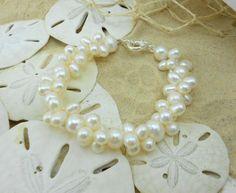Pulseira VANI Pérolas Cultivadas Água Doce Pearl, perlas, jewerly, bracelets