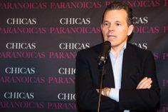 El director del largometraje #chicasparanoicas Pedro del Santo en un momento de la presentación #abcserrano