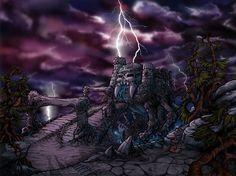 Cartoon Castle Grayskull