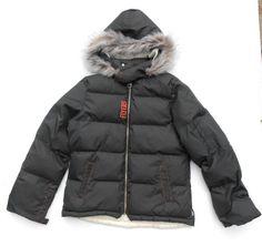Reebok NHL Philadelphia Flyers Women's Puffer Coat Jacket  Size L Large #Reebok…