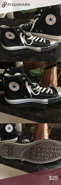 Shoes for men Converse all star - chuck Taylor brand new only worn once for Halloween costume Converse Shoes Sneakers
