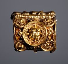 Earring. Etruscan, 6th century BC Gold.