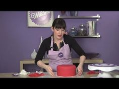 Learn how to Cover a Cake with Fondant from Wilton