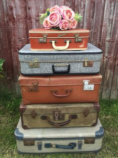 CREAM VINTAGE SUITCASE - Cream Vintage Luggage | Cream Case ...