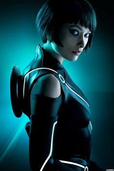 """Olivia Wilde (Quorra) from """"Tron Legacy""""."""