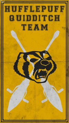 Quidditch Team Poster: Hufflepuff by TheLadyAvatar on DeviantArt