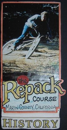 Repack. The first mountain bike race.