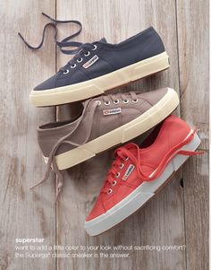 Superga® classic sneakers | www.jjill.com