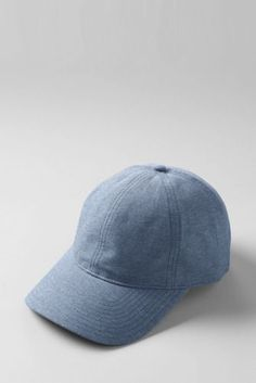 ac07f7d9c26 Women s Chambray Baseball Cap from Lands  End. Marga Parcon · CAPS