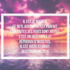 Deutéronome 32: 4