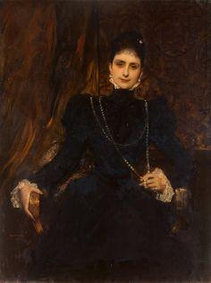 Benjamin-Constant, Portrait Of Mme M. S. Derviz , 1899