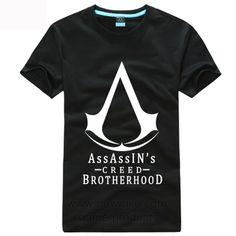 Assassins Creed Brotherhood Short T Shirt newmilo.com