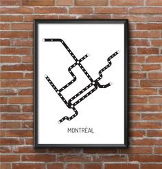 A beautiful artwork to print for the walls of your home or your office. Metro Montreal, Tatoo Design, Usa Travel Map, Metro Map, Subway Map, Free Printable Calendar, Beautiful Artwork, Watercolor Illustration, Illustrations