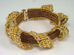 Bead Show: Bead Show Workshops & Classes: Friday June 7, 2013: B131266 Ribbon Arches Bracelet