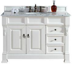 "brookfield bosco bathroom vanity, James Martin Vanity,  48 Vanity,  48 vanities, bathroom vanities,  48"" bathroom vanities,  48"" Single vanity"