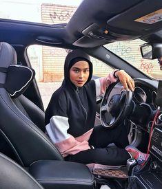 Modern Hijab Fashion, Street Hijab Fashion, Arab Fashion, High Street Fashion, Muslim Fashion, Mode Outfits, Sport Outfits, Fashion Outfits, Muslim Girls