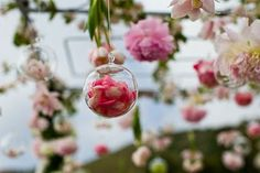 Received a Rose from your significant other? How about drying your rose and putting the petals into a glass ornament ball.