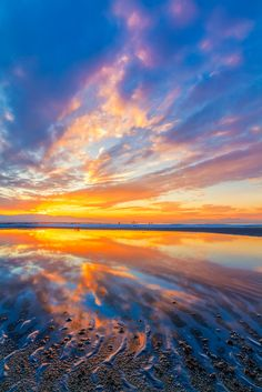 Black Rock Beach sunset, GSL by Scott Stringham   #reflection