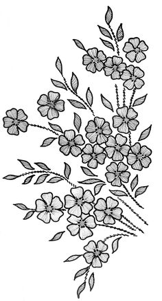 Stitches de Sol Hand Embroidery Patterns Mexican Folk Art Inspired Iron On Transfers - Embroidery Design Guide Floral Embroidery Patterns, Embroidery Suits Design, Embroidery Flowers Pattern, Silk Ribbon Embroidery, Hand Embroidery Designs, Beaded Embroidery, Embroidery Stitches, Machine Embroidery, Fabric Paint Designs