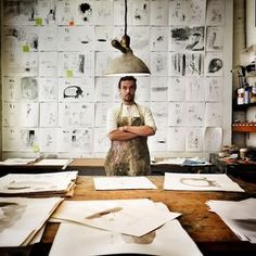 That time I was working on 'Once Upon an Alphabet' - Oliver Jeffers