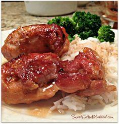 BAKED  TERIYAKI CHICKEN - Awesome Tried and True recipe!! |  SweetLittleBluebird.com