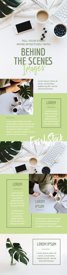 Behind the Scenes Infographic Template by Easil - 5 Important Reasons to Share Stunning Blog Graphics #bloggingtips #templates #pinterestmarketing #infographic