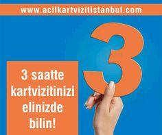 3 saatte kartvizitinizi elinizde bilin! 0532 175 36 26 - http://www.acilkartvizitistanbul.com #acilkartvizit #kartvizit