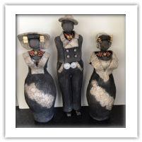 Keramiek - Figuren van Henny Cement Art, Inspiring Art, Halloween, Inspiration, Beautiful, Decor, Clay, Nice Asses, Biblical Inspiration