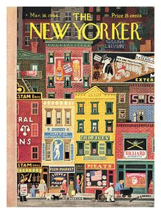 The New Yorker Cover - March 18, 1944 Regular Giclee Print autor Witold Gordon w AllPosters.pl