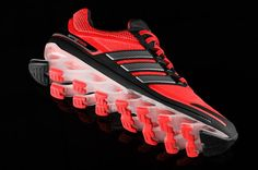 Adidas Springblade: 16 springs glued to your feet = explosive bounce back energy return