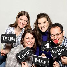 Download FREE Photo Booth Signs
