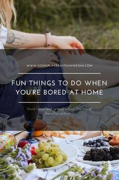 Fun Things to Do When You're Bored At Home 11 Bored At Home, Home Stuck, Things To Do At Home, Fun Things, Eating Games, Outdoor Projector, Good Movies On Netflix, Dancing In The Rain, Cool Diy Projects