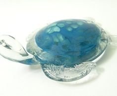 New Hand Blown Glass Ocean Blue and Cream Sea Turtle Figu... http://www.amazon.com/dp/B009Y8RFDO/ref=cm_sw_r_pi_dp_pAjpxb1EKRFR1