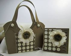 Soft Suede Birthday Bag by geobeck - Cards and Paper Crafts at Splitcoaststampers