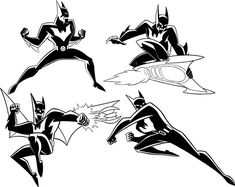 Batman Beyond Model Sheet II by Nes44Nes.deviantart.com on @deviantART