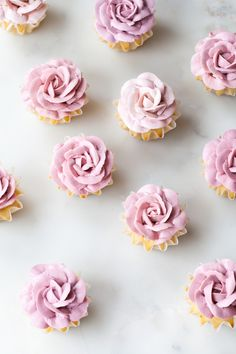 Rose Cupcakes | ZsaZsa Bellagio - Like No Other