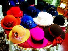 Vintage Womens Hats @ The Hidden Gem Boutique!