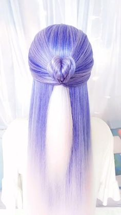 Kawaii Hairstyles, Easy Hairstyles For Long Hair, Formal Hairstyles, Bride Hairstyles, Headband Hairstyles, Summer Hairstyles, Cute Hairstyles, Long Straight Hairstyles, Long Hairstyle
