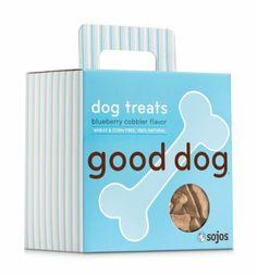 Good Dog Treats, Blueberry Cobbler - http://www.thepuppy.org/good-dog-treats-blueberry-cobbler/