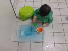 Sensory - Colour water play