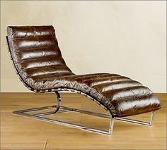 Oviedo Chaise Longue from Restoration Hardware. Good thing I'm pretty good at NOT whipping out the credit card.